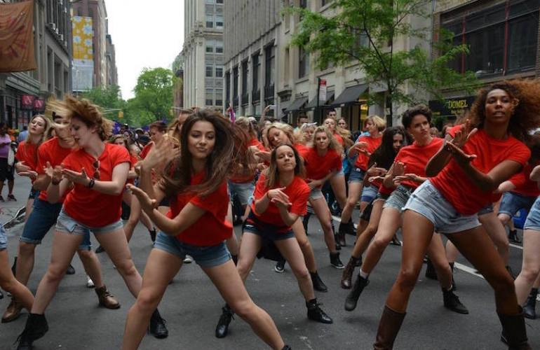 BDC in the Dance Parade.